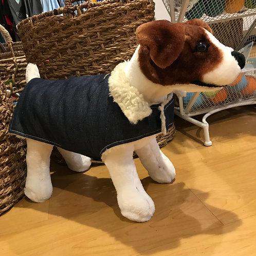 Denim Fleece Jacket