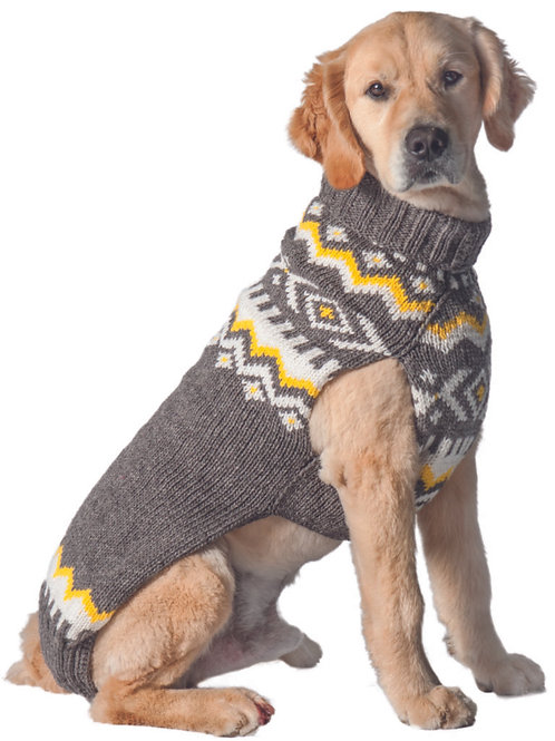 Gray Nordic Sweater