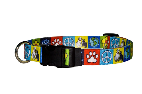 Pets for Peace Cat Collar