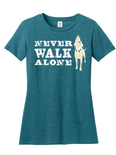 Never Walk Alone Tee (Women's Cut)