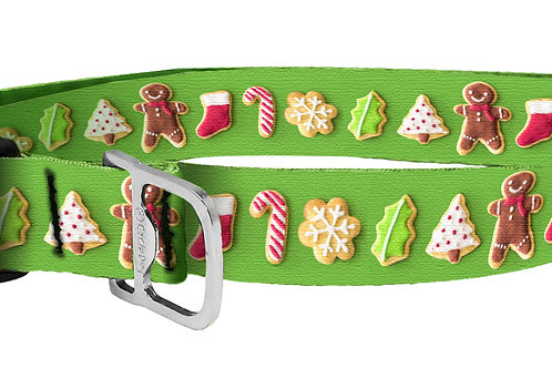 Holiday Cookie Dog Collar