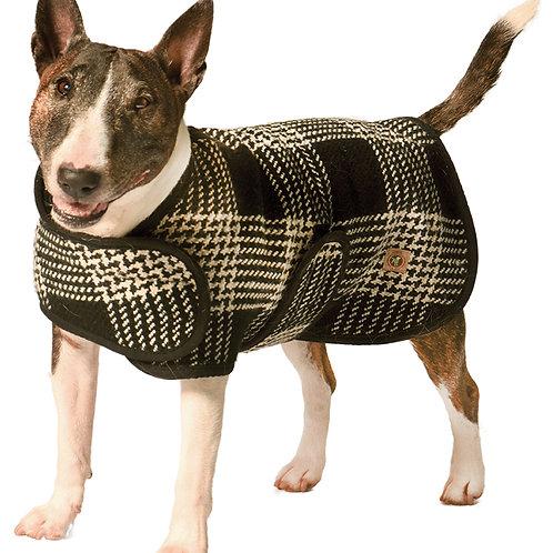 Blanket Style Plaid Coat