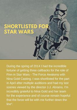 Scandinavian actor Henrik Plau shortlisted for Star Wars