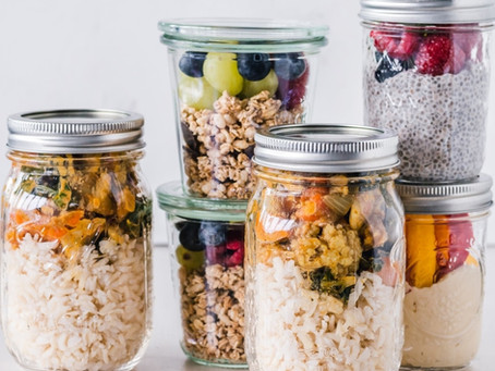 Easy & Healthy Mason-Jar Meals