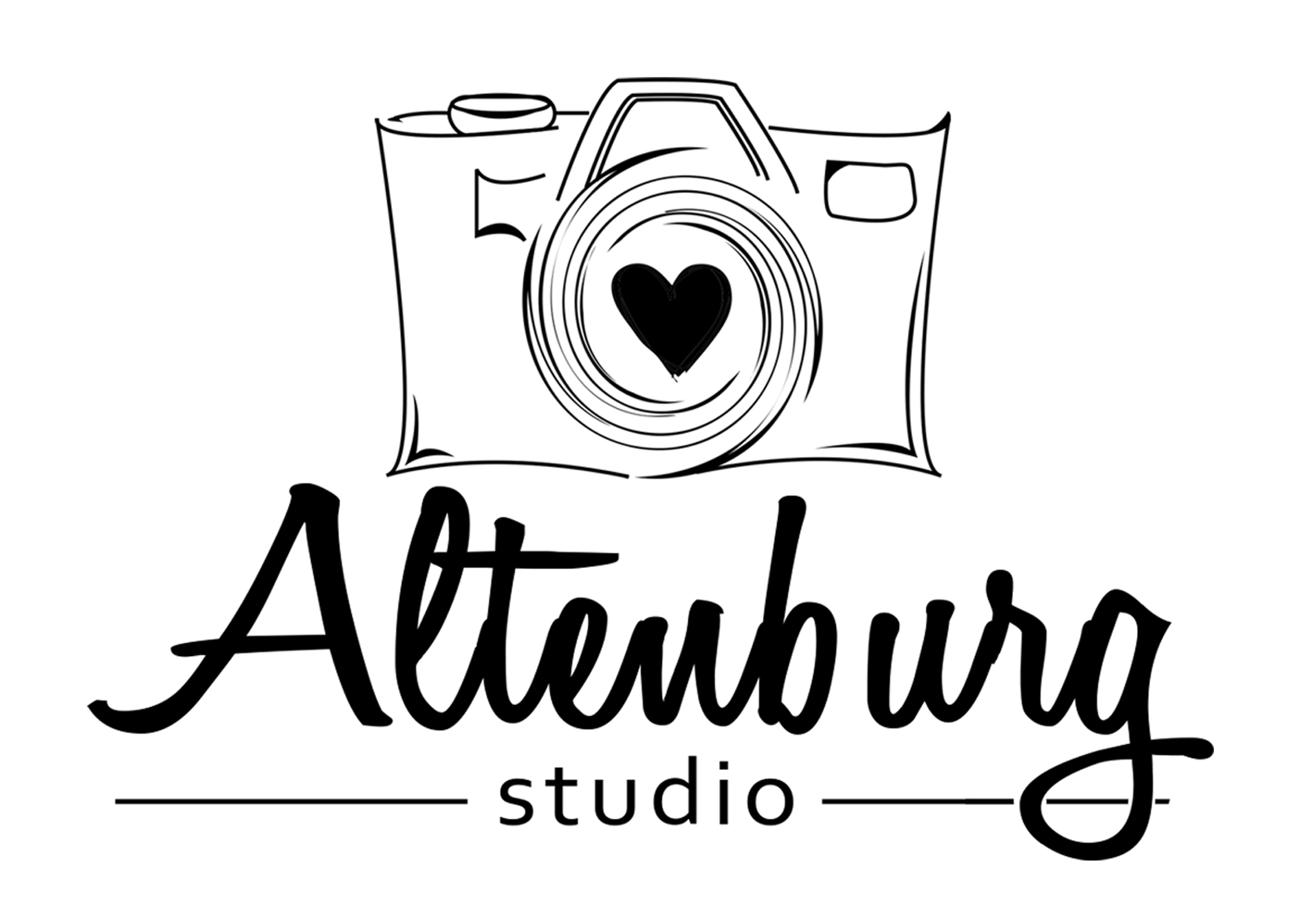 Altenburg Studio logo white