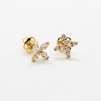 Tam - Boucles d'oreilles or 14 carats - Tam gold 14K studs