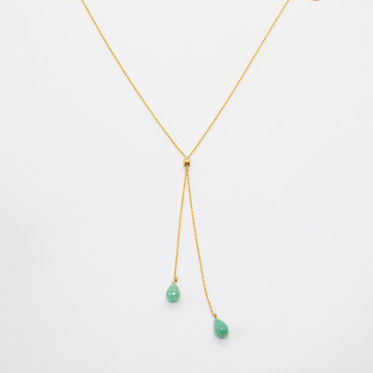 Hope collier Emeraude | Hope necklace