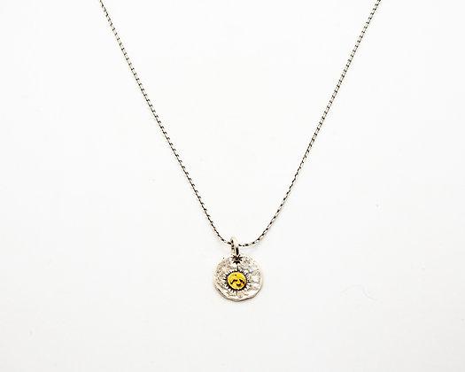 Collier argent Ben   Ben necklace