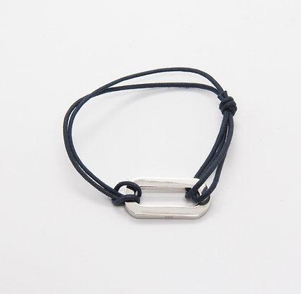 Bracelet ovale argent   Silver bracelet