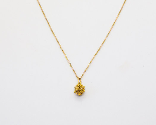 Tiara Collier or 14 carats | Tiara solid gold 14K necklace