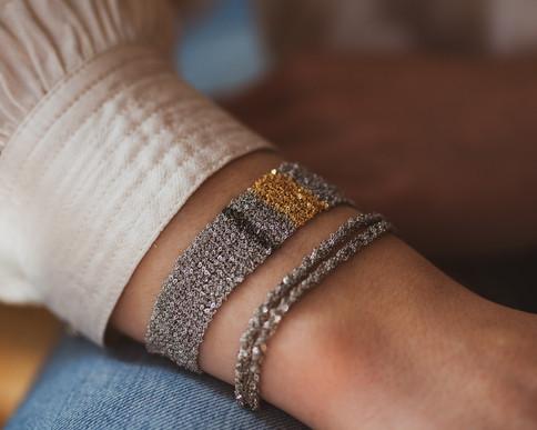 bracelet tresse - bracelet createur - th