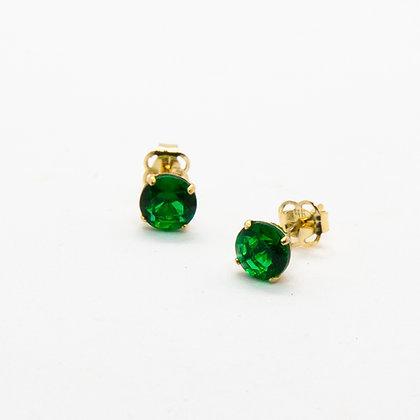 Enya - Boucles d'oreilles or 14 carats | Enya gold 14K studs