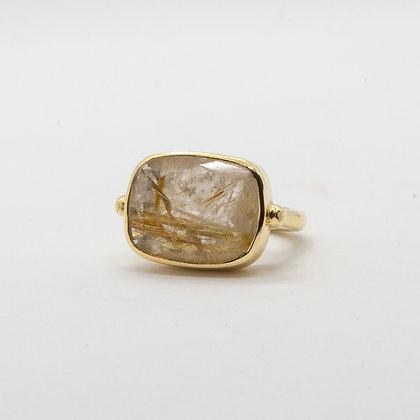 Calypso bague quartz rutile  | Calypso ring