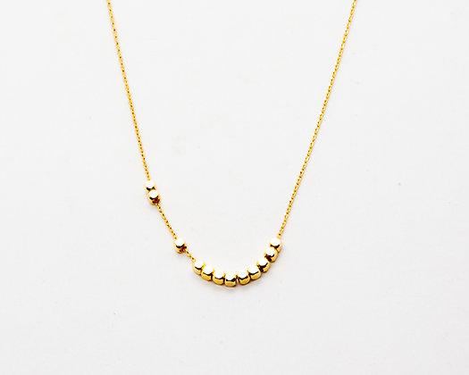 collier ras de cou plaque or - bijoux boheme - bijoux createur - the boho society
