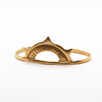 Sunkeeper | Bracelet jonc de créateur en bronze