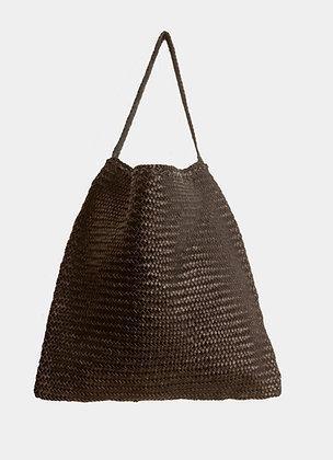 sac dragon Tote - sac cuir tresse - sac a main bandouliere - sac cabas cuir - the boho society