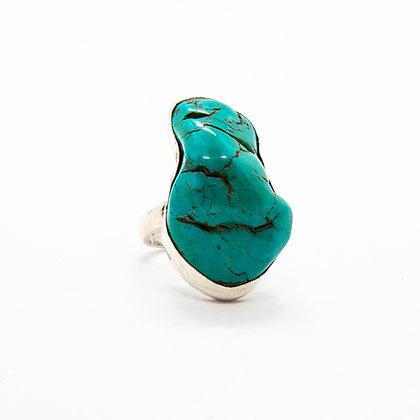 Kaia   Bague turquoise en argent 925