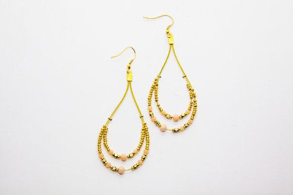 boucles oreilles boheme- boucles oreilles pendantes créateur - nataraj - the boho society