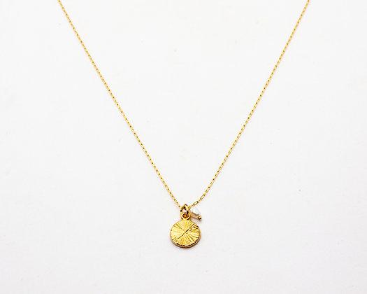 collier plaque or - collier boheme chic - collier boho - bijoux boheme - bijoux createur - the boho society