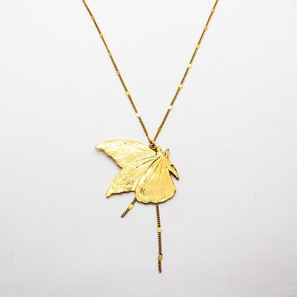 Collier sautoir Butterfly | Butterfly long necklace