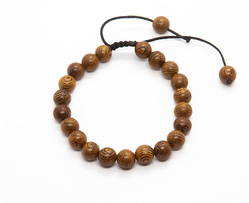 bracelet homme pierre naturelle - bracelet perles bois homme - bijoux homme - the boho society