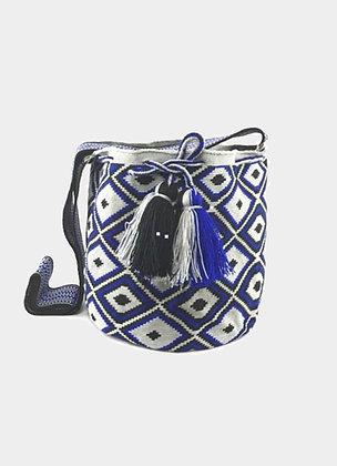 The boho society-sac en crochet boheme chic - sac ethno chic - sac wayuu - mochila bag