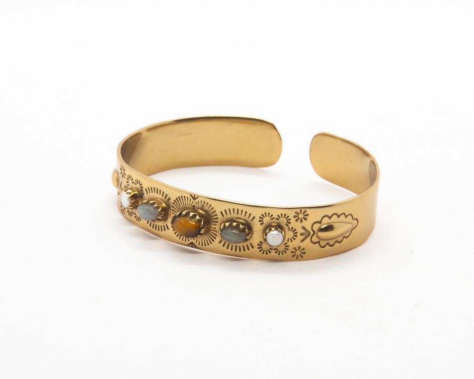 bracelet boheme - bracelet jonc labrador