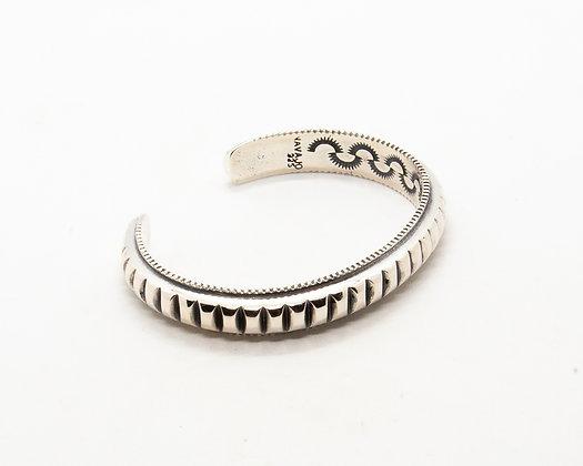 bracelet homme argent - jonc homme argent - bijou vintage homme - bijoux createur - the boho society