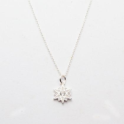 Collier argent Calie | Calie silver necklace