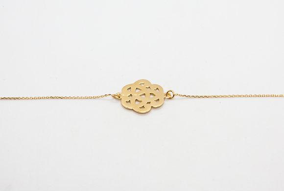 bracelet fin plaque or-bracelet fantaisie plaque or-bijoux createur-the boho society
