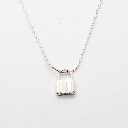 Collier cadenas Cody | Cody padlock necklace