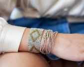 bracelet boheme - bracelet hippie chic -