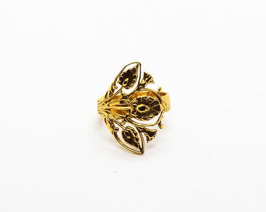 bague fleur lotta djossou - bijoux createur - bijoux boheme - boho chic - the boho society