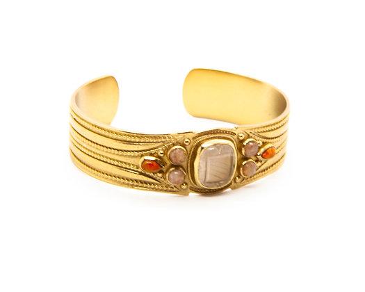 bracelet jonc Java atelier plume- bijoux bohème - bijoux createur - bijoux boho - the boho society