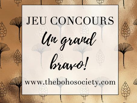 ✨| Résultats du jeu concours The boho society | ✨