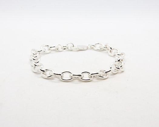 bracelet femme argent - gourmette femme argent - the boho society