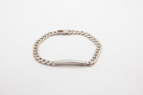 The boho society-gourmette chaine argent 925-bracelet fantaisie bling bling
