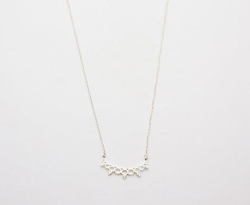 collier fantaisie en argent 925- collier boheme - bijou de createur en argent fait main-  the boho society