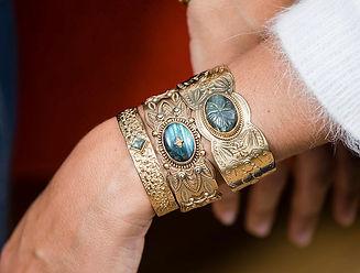bracelet boheme - bracelet jonc - bijoux