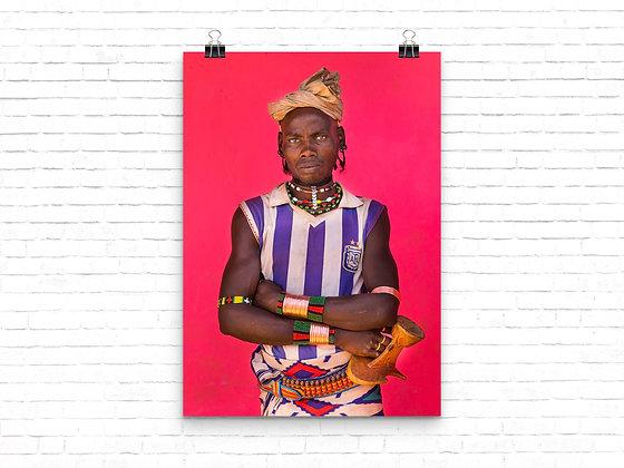 Hamer man - Ethiopia