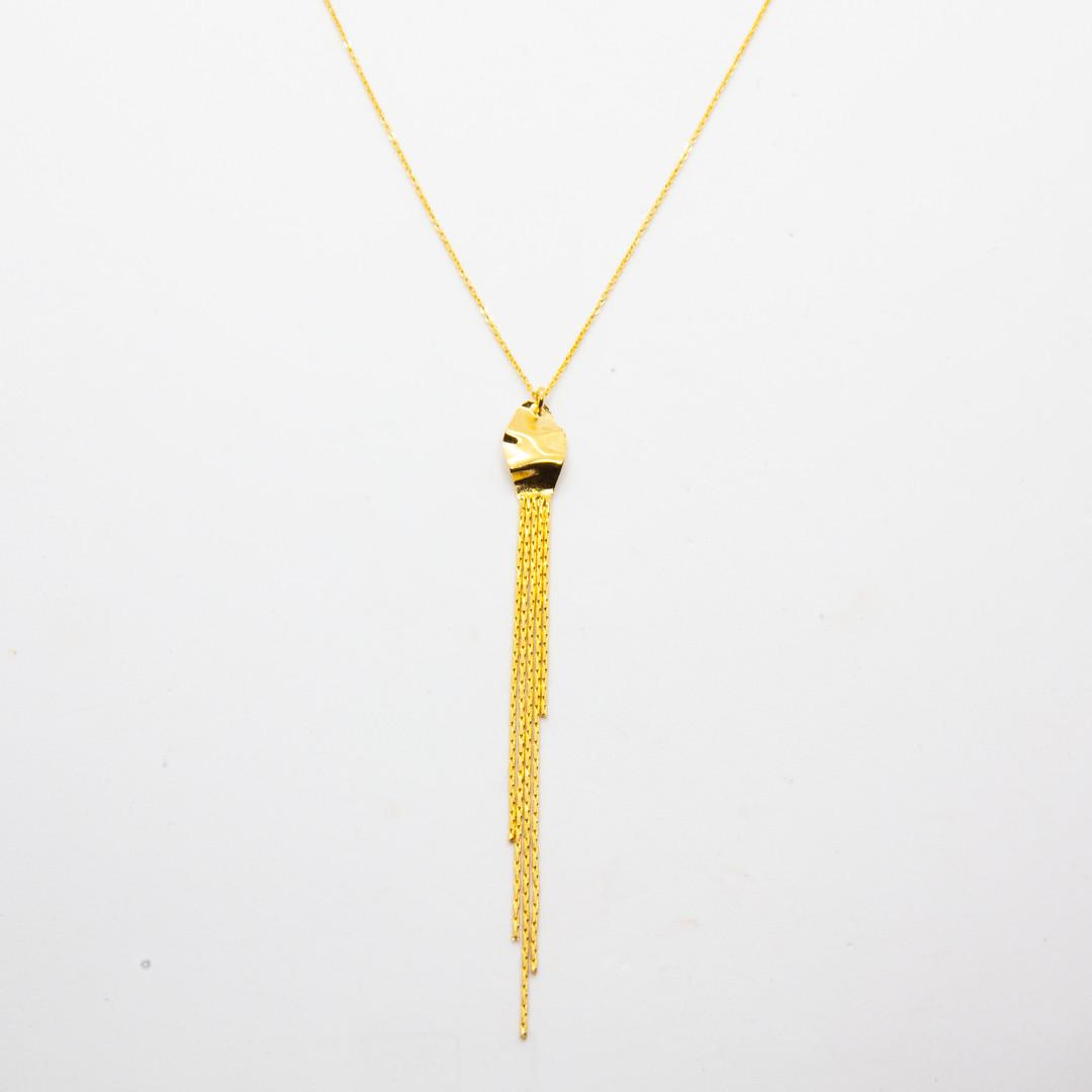 bijoux createur plaque or - laure mory -