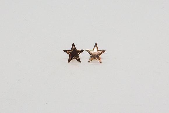 The boho society–boucles d'oreilles pin-bijou tendance femme–boucles d'oreilles plaqué or–boucle oreille fantaisie- bijou min