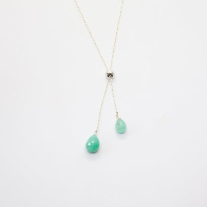 Hope collier Emeraudes | Hope necklace