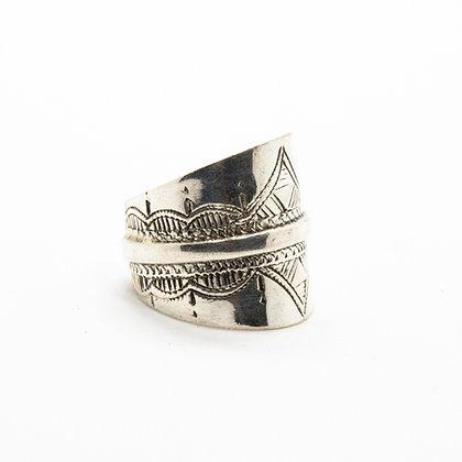 Bague touareg argent   Tuareg silver ring