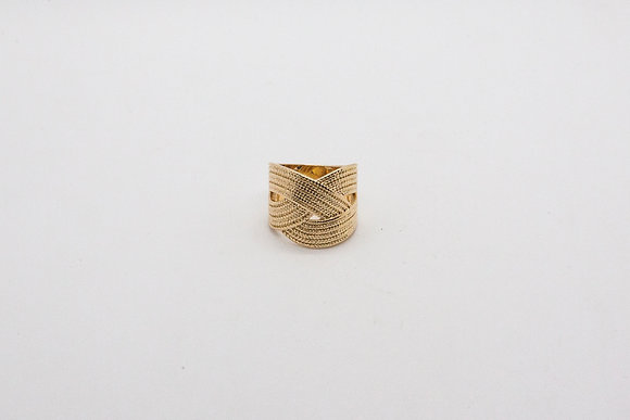 The-boho-society-bijoux-bague plaqué or