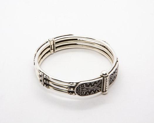 bracelet femme argent- bijoux indiens -bijoux ethniques argent - bijoux boheme - the boho society