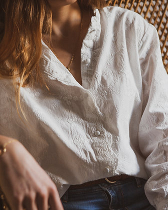 Anis | Blouse broderie anglaise