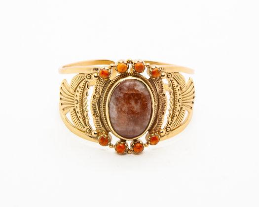 bracelet manchette Dakota atelier plume- bijoux bohème - bijoux createur - bijoux boho - the boho society