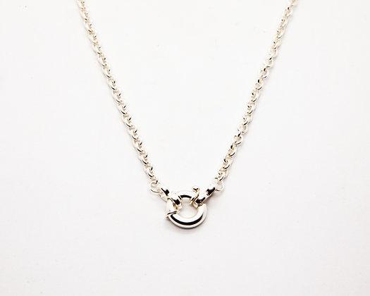 collier femme argent - collier ras de cou argent - bijoux créateur - the boho society