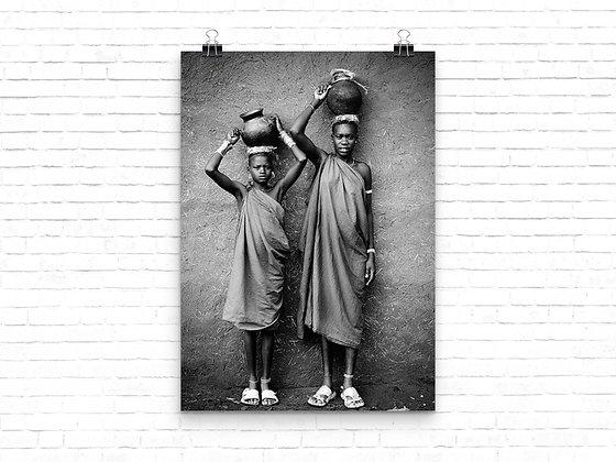 Women carrying water - Kenya